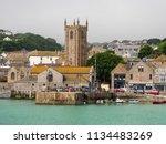 st ives  england   june 19  st...   Shutterstock . vector #1134483269