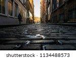 dublin street life | Shutterstock . vector #1134488573