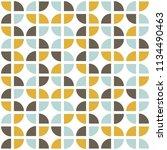 retro seamless pattern. mid... | Shutterstock .eps vector #1134490463