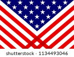 usa background illustration | Shutterstock . vector #1134493046