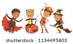 set of children characters for... | Shutterstock .eps vector #1134495803