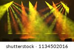 colorful orange and green...   Shutterstock . vector #1134502016
