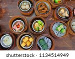 the chinese food  a many kind... | Shutterstock . vector #1134514949
