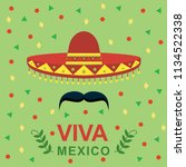 viva mexico independence day of ...   Shutterstock .eps vector #1134522338