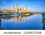 basilica of our lady of the... | Shutterstock . vector #1134527438