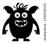 a famous moshi monster...   Shutterstock .eps vector #1134536153