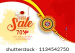 creative sale and promotion...   Shutterstock .eps vector #1134542750