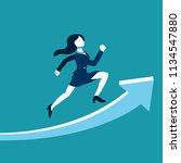 business concept vector... | Shutterstock .eps vector #1134547880