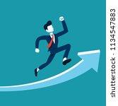business concept vector... | Shutterstock .eps vector #1134547883
