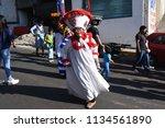 san pedro atocpan  mexico...   Shutterstock . vector #1134561890