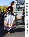 san pedro atocpan  mexico...   Shutterstock . vector #1134561914