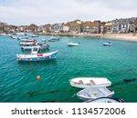st ives  england   june 19  the ...   Shutterstock . vector #1134572006