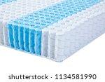 quality mattress materials... | Shutterstock . vector #1134581990