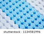 quality mattress materials... | Shutterstock . vector #1134581996