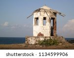 old lighthouse building at ... | Shutterstock . vector #1134599906