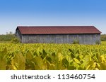 Close Up View Of  Barn And...