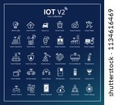modern internet of things icon...   Shutterstock .eps vector #1134616469