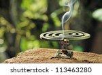 green spiral insect repellent...   Shutterstock . vector #113463280