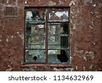 colour image of the window of a ... | Shutterstock . vector #1134632969