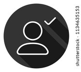 add friend vector icon. add...   Shutterstock .eps vector #1134635153