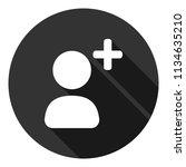 add friend vector icon. add...   Shutterstock .eps vector #1134635210