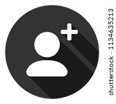 add friend vector icon. add...   Shutterstock .eps vector #1134635213