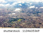 aerial cityscape view from the... | Shutterstock . vector #1134635369
