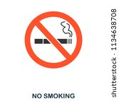no smoking flat icon. premium...