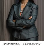 cropped head of an indian arab... | Shutterstock . vector #1134660449