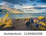 faxinal   aysen   chile  ... | Shutterstock . vector #1134681038