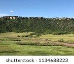 Landscape View Of Castle Rock ...