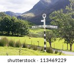 Old Signpost Near Wrynose Pass...