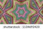 3d rendering of an abstract... | Shutterstock . vector #1134692423