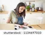 people  finance  home economics ... | Shutterstock . vector #1134697010