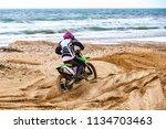 professional motocross... | Shutterstock . vector #1134703463