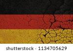 germany flag crisis | Shutterstock . vector #1134705629