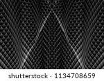 wavy dark gray texture....   Shutterstock . vector #1134708659