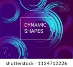 abstract geometric background.... | Shutterstock .eps vector #1134712226