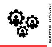 team vector icon   Shutterstock .eps vector #1134720584