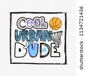 illustration for basketball ...   Shutterstock .eps vector #1134721436