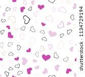light pink  green vector... | Shutterstock .eps vector #1134729194