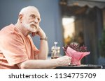 side view of thoughtful mature... | Shutterstock . vector #1134775709