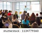 business and entrepreneurship... | Shutterstock . vector #1134779360