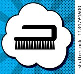 cleaning brush hygiene tool... | Shutterstock .eps vector #1134794600