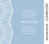 invitation or card templates...   Shutterstock .eps vector #1134801230