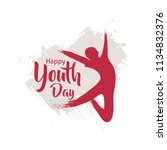 youth day vector illustration | Shutterstock .eps vector #1134832376
