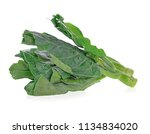chinese broccoli on white... | Shutterstock . vector #1134834020