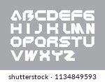 creative concept idea graphic... | Shutterstock .eps vector #1134849593