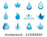 Abstract Symbols  Of A Drop...