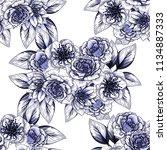 abstract elegance seamless... | Shutterstock .eps vector #1134887333